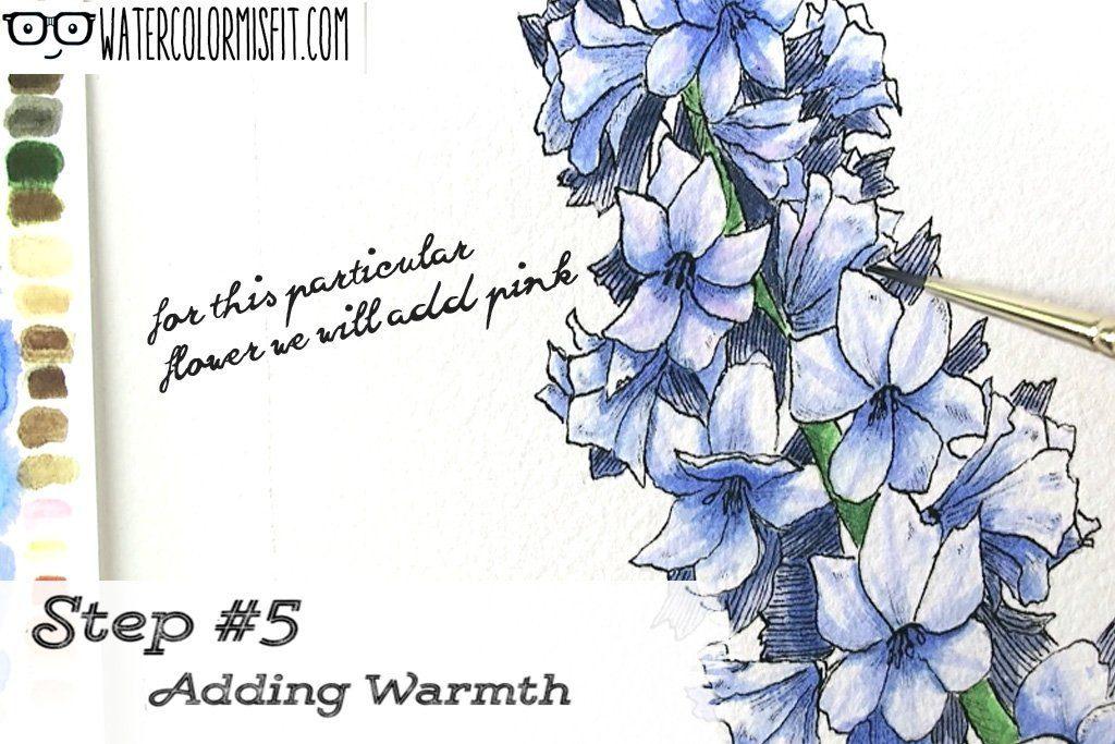 Step 5 Adding Warmth